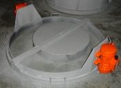 Виброформа универсальная крышка-днище для метрового кольца